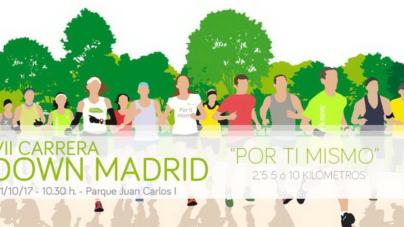 "#RunningSolidario Samanta Chocron: ""Carrera Síndrome de Down Madrid"""
