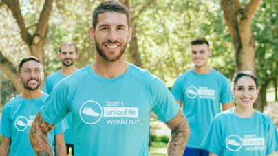 "Samanta Chocron: ""Team Unicef World Run."""