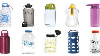"Majo Rutilo: ""Botellas reutilizables."""