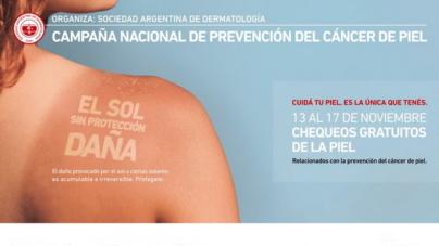 """Andres Politi: """"Semana de prevención del cáncer de piel""""."""