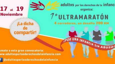 """Sebastian Cuottromo y Marcos Capurro: """"Ultramaraton en defensa de la infancia."""""""