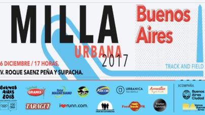 Mañana se corre el Campeonato Nacional de Milla Urbana