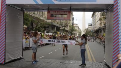Belén Casetta fue récord sudamericano en la  Milla Urbana Ciudad de Buenos Aires