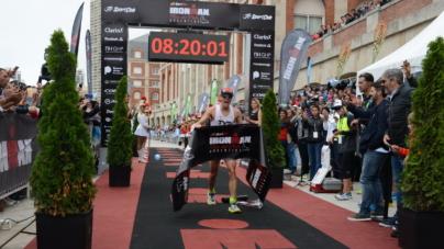Matt Chrabot y Sarah Piampiano se impusieron en la Primera edición del IronMan Mar del Plata