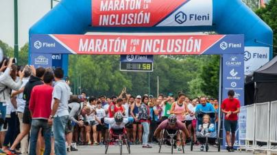 """Se llevó a cabo la 17° edición de la """"Maratón por la Inclusión"""" de Fleni"""