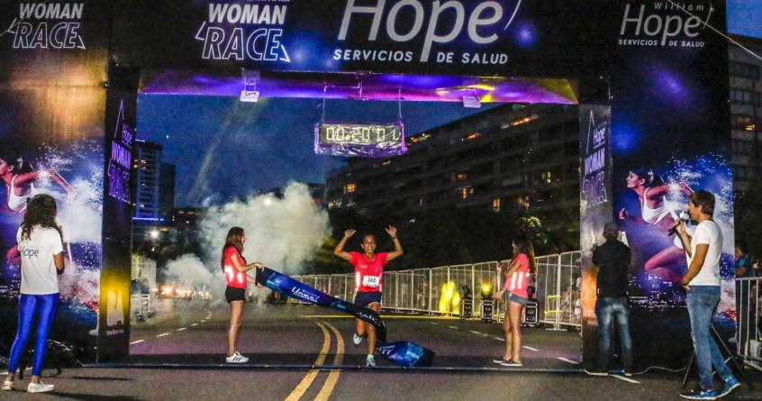 Se corrió la Woman Race By Hope