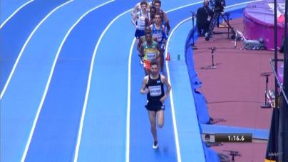 Federico Bruno finalizó 13ero en la clasificación para la final de 3000mt
