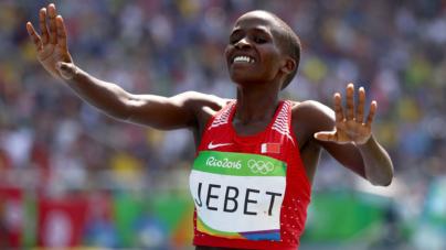 Ruth Jebet envuelta en escandalo por doping positivo