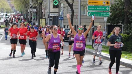 Aumenta la participación de mujeres en la Maratón de Madrid