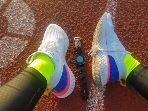 Salimos a entrenar con las Nike Epic React