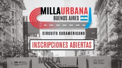 Se abrieron las inscripciones para la 4ta edición de Milla Urbana Ciudad de Buenos Aires