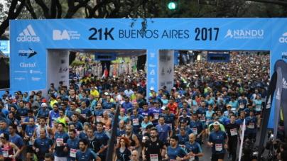 Quedan pocos días para vivir los 21Km de Buenos Aires Naranja