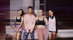 "NIKE WOMEN PRESENTA ""METALLIC SHEEN COLLECTION"""