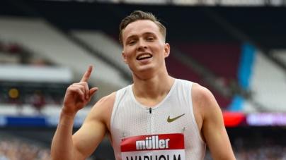 Karsten Warholm mejor marca del año en 400mt indoor