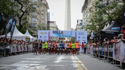 Buenos Aires recibirá al primer Campeonato Iberoamericano de Milla Urbana.