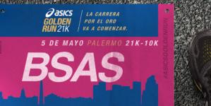 El 5 de mayo tenes una cita con ASICS Golden Run