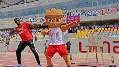 Usain Bolt aprueba la pista de Atletismo de Lima 2019