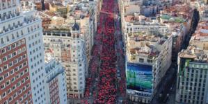 Carrera de la Mujer: 36.000 participantes