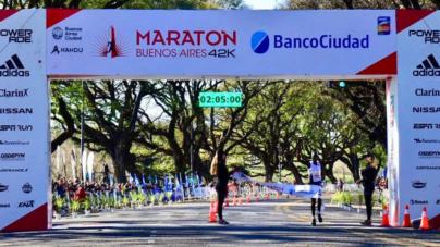 Historicas marcas en el Maratón de Buenos Aires