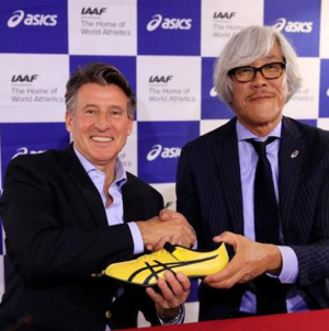 ASICS extiende patrocinio con la IAAF hasta 2029