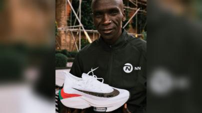 Las nuevas zapatillas de Eliud Kipchoge para el Maratón de Londres