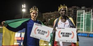 Valencia hace historia con dos nuevos récords del mundo de Cheptegei y Gidey