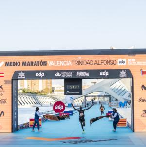 Kibiwott Kandie logra un nuevo récord del mundo (57:32) en el Medio Maratón Valencia