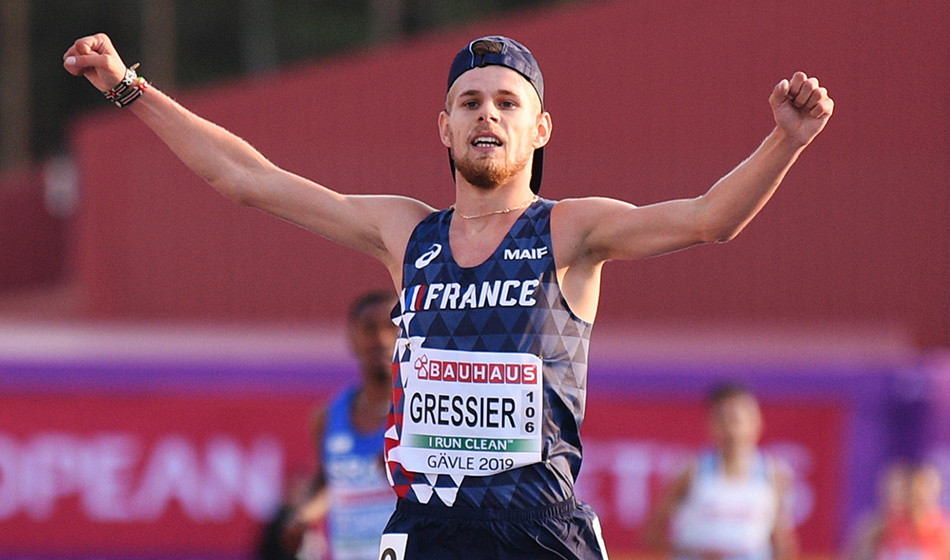 Jimmy Gressier ganó el Meeting de Toulon pero no pudo hacer la mínima para Tokyo 2020