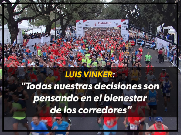 """Luis Vinker: """"Todas nuestras decisiones son pensando en el bienestar de los corredores"""""""