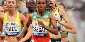 Gudaf Tsegay 29:39.42 en su debut en 10.000mt