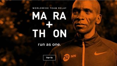 Kipchoge, Bekele y Cheptegei, participarán de la carrera virtual MA RA TH ON 2021