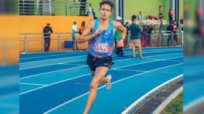 Jose Zabala bajó de 8min en 3000mt en Santa Fe