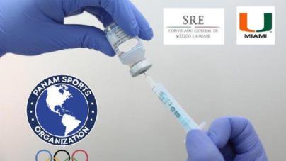 Panam Sports consigue 4.000 vacunas para atletas y oficiales que viajarán a Tokio