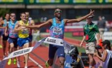 Thiago do Rosario André bajó de 1:45 en 800mt