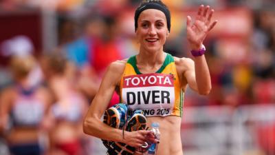 Para la maratonista australiana Sinead Diver, su edad es sólo un número