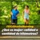 #ElCriticoDelRunning ¿Qué es mejor: calidad o cantidad de kilómetros?
