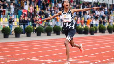 Sifan Hassan bate el récord del mundo de 10.000mt en Hengelo