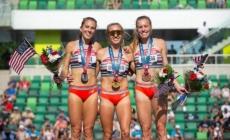 Cuatro hitos del preolímpico de Estados Unidos: un récord del mundo y podios históricos