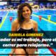 """Daniela Gimenez: """"Nadar es mi trabajo, pero elijo correr para relajar el cuerpo"""""""