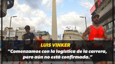 """Luis Vinker: """"Comenzamos con la logística de la carrera, pero aún no está confirmada"""""""