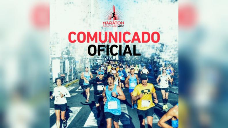 Se confirmó la fecha del Maratón y Medio Maratón de Buenos Aires