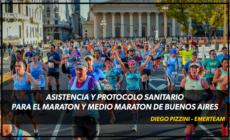 Asistencia y protocolos sanitarios 21k y 42k de Buenos Aires