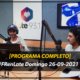 [PROGRAMA COMPLETO] #FRenLate Domingo 26-09-2021